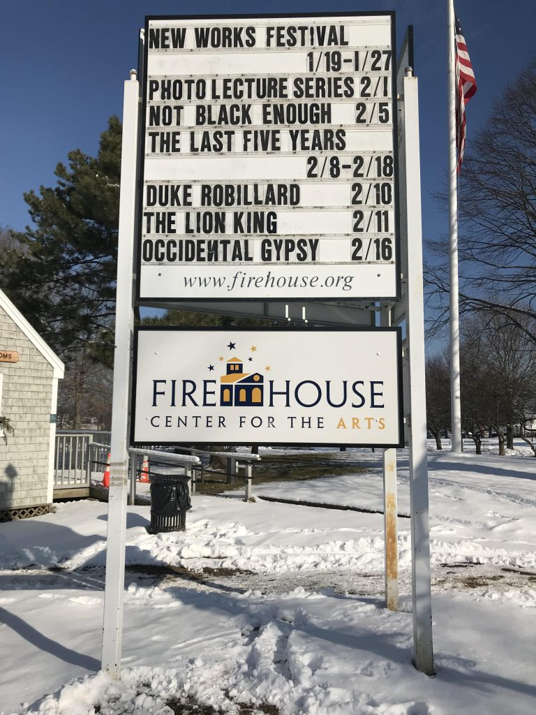 Firehouse Theatre Billboard