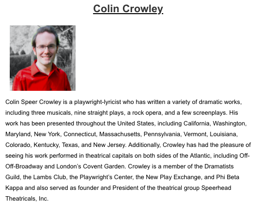 TNT Colin Biography
