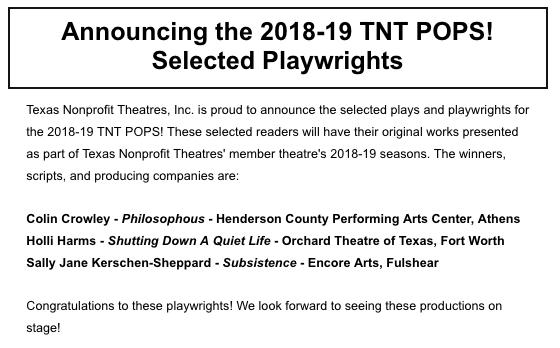 TNT Pops Announcement